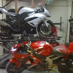 Kawasaki ZX6R – Old and New